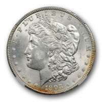 1903 O MORGAN DOLLAR $1 NGC MINT STATE 63 UNCIRCULATED NEW ORLEANS MINT