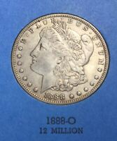 MORGAN SILVER DOLLARS 1888-O GREAT CONDITION