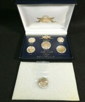 2000 24KT GOLD PLATED U.S. COIN SET MINT IN BOX UNCIRCULATED