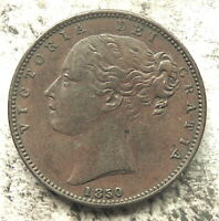 GREAT BRITAIN 1850/40 ONE FARTHING   COPPER  4.8 GR 22 MM  K