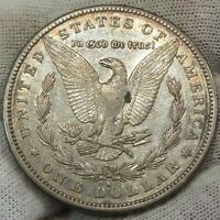 1889 - S MORGAN SILVER DOLLAR    021589S