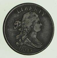 1803 DRAPED BUST HALF CENT - CIRCULATED 4701