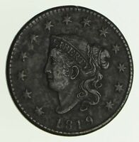 1819 MATRON HEAD LARGE CENT - CIRCULATED 4152
