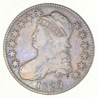 1823 CAPPED BUST HALF DOLLAR - PATCH 3 2574