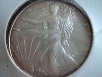 2004   $1  SILVER  EAGLE, BRILLIANT UNCIRCULATED