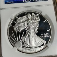 2015 W $1 SILVER AMERICAN EAGLE NGC PF70 ULTRA CAMEO EARLY RELEASES - 013