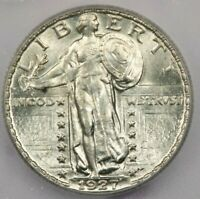 1927 STANDING LIBERTY QUARTER ICG MINT STATE 64 FH