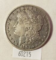 WEST POINT COINS  1901-S MORGAN SILVER DOLLAR