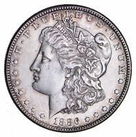 1886-S MORGAN SILVER DOLLAR - CHOICE 1216