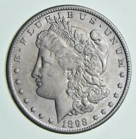 1898-S MORGAN SILVER DOLLAR 6909