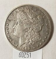 WEST POINT COINS  1902-S MORGAN SILVER DOLLAR $1