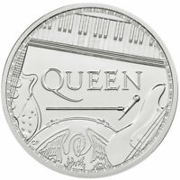 2020 BRITAIN LEGENDS OF BRITISH MUSIC QUEEN 1 OZ SILVER 2 BU