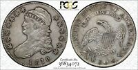 1819/8 CAPPED BUST HALF DOLLAR 50C SMALL 9 PCGS XF   DETAIL