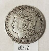 WEST POINT COINS  1899-S MORGAN SILVER DOLLAR $1 EXTRA FINE