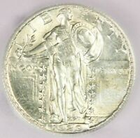 1929-S STANDING LIBERTY QUARTER ICG MINT STATE 61FH MINT STATE 61 FH