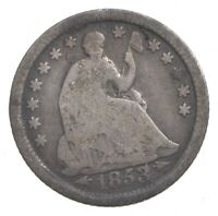 1853 O SEATED LIBERTY HALF DIME   CHARLES COIN COLLECTION  3