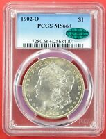 1902 O NEW ORLEANS PCGS MINT STATE 66 CAC MORGAN SILVER DOLLAR 90 SILVER COIN KEY