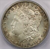 1890-S MORGAN SILVER DOLLAR ICG MINT STATE 63