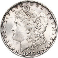 1883 MORGAN SILVER DOLLAR UNCIRCULATED US MINT COIN SEE PHOTOS C294