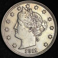 UNCIRCULATED 1911 LIBERTY V NICKEL FREE SHIPPING