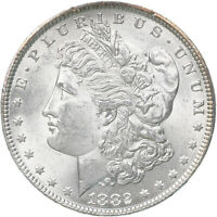 1882 MORGAN SILVER DOLLAR BU US MINT COIN SEE PHOTOS C865