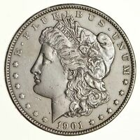 1901 MORGAN SILVER DOLLAR - NEAR UNCIRCULATED 6616