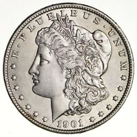 1901 MORGAN SILVER DOLLAR -  1590