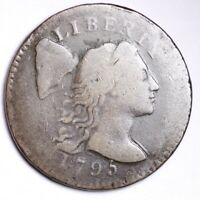 1795 FLOWING HAIR LARGE CENT CHOICE G SHIPS FREE E120 KNLM