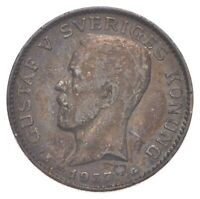 ROUGHLY THE SIZE OF A QUARTER   1937 SWEDEN 1 KRONA   WORLD