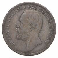ROUGHLY THE SIZE OF A QUARTER   1954 SWEDEN 1 KRONA   WORLD