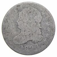 EARLY   1820   CAPPED BUST DIME   EAGLE REVERSE   TOUGH   US