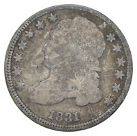 EARLY   1831   CAPPED BUST DIME   EAGLE REVERSE   TOUGH   US