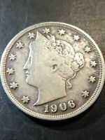 1906 LIBERTY HEAD V NICKEL