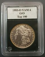 1883 O/O  VAM 4  STRONG REPUNCHED O/O DOWN, DOUBLED 18-3   TOP 100 LIST