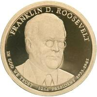 2014 S PRESIDENTIAL DOLLAR FRANKLIN D ROOSEVELT GEM DEEP CAMEO PROOF