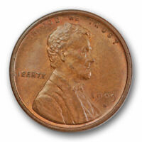 1909 S VDB 1C LINCOLN WHEAT CENT UNCIRCULATED MINT STATE KEY DATE SCRATCH