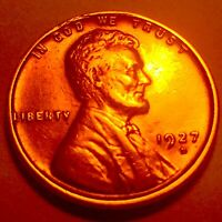 1927-D LINCOLN CENT  PENNY   BU  2