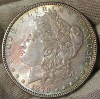 1879   $1  MORGAN SILVER DOLLAR UNC BU SEMI PROOF LIKE GEM VAM- 44  51779
