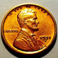 1921-S LINCOLN CENT  PENNY  HIGH GRADE 2
