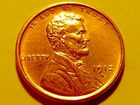 1912-S LINCOLN CENT  CHOICE BU RED 1