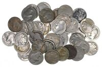 40   DATED 1920'S AND 1930'S BUFFALO INDIAN NICKELS   ROLL L