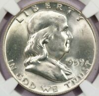 1959-P 1959 FRANKLIN HALF DOLLAR NGC MINT STATE 64