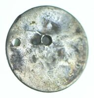 WORN DATE SILVER THREE CENT PIECE   TRIME   HOLED COIN COLLE