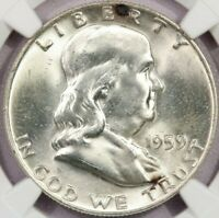 1959-D 1959 FRANKLIN HALF DOLLAR NGC MINT STATE 64