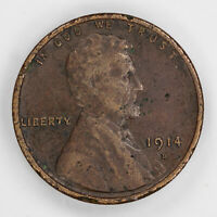 1914 D LINCOLN WHEAT CENT PENNY 1C VF  FINE DETAILS 2378