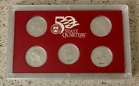 1999 UNITED STATES MINT 50 STATE QUARTERS SILVER PROOF SET