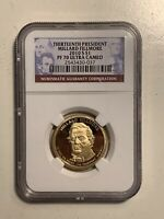 2010 S MILLARD FILLMORE US PRESIDENTIAL PROOF DOLLAR COIN NGC PF70 ULTRA CAMEO