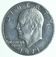 SPECIALLY MINTED S MINT MARK 1971 S 40  EISENHOWER SILVER DO
