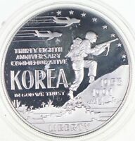 PROOF 1991 P KOREAN WAR MEMORIAL COMMEMORATIVE US DOLLAR 90