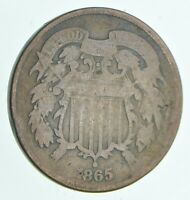 1865 TWO CENT PIECE   WALKER COIN COLLECTION  904
